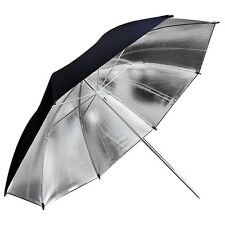 80cm 32inch Studio Flash Silver Reflector Umbrella