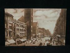 Antique POSTCARD  #12734 Broadway Looking South from 2nd St., LOS ANGELES, CA.