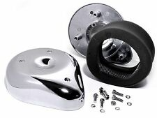 Filtre à air Kit tear drop chrome pour Harley Davidson Keihin Bendix shovelhead EVO