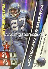 Adrenalyn XL NFL - Jordan Babineaux - Seahawks - #S55