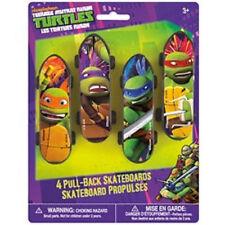 Teenage Mutant Ninja Turtles Plastic Skateboards 4 pk Favors Party TMNT