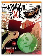 fumetto A PANDA PIACE L' AVVENTURA Nr. 5 Edizioni Panini Comics