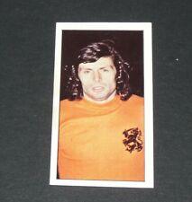 FOOTBALL CARD WORLD CUP WM 74 MÜNCHEN 1974 MUNICH WIM SUURBIER AJAX NEDERLAND