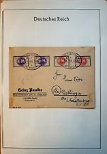 Local/Fredersdorf (Germany,1945) Sp 236-239 on cover