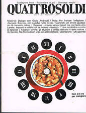 "QUATTROSOLDI mag '71_AEROTAXI_IMPIANTI IN AFFITTO ""LEASING""_PAPTEST_CALZE A TUBO"