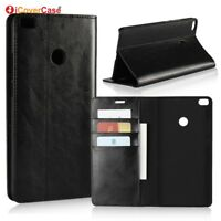 Luxury Genuine Leather Wallet Flip Case Stand Cover For Xiaomi Mi Max 2