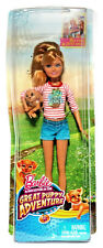 Barbie and Her Sisters in the Great Puppy Adventure Stacie Doll + Dog Rookie New