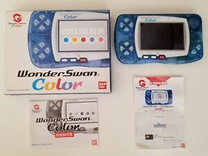 Wonderswan Color Crystal Blue
