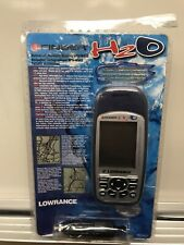 Lowrance H2O iFinder handheld Gps unit marine Ice Fishing Cord 12v Bundle New