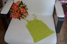 tee shirt neuf petit bateaux 4 ans debardeur vert anis