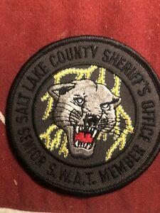 Utah  Police - Salt Lake Sheriff Swat  UT  Police  Patch