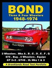 Bond tres y cuatro bicicletas Cartera de prueba de carretera 1948-1974 por Brooklands Books..