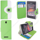 Leather Book Flip Wallet Phone Case Cover For Sony Xperia Z5 Z4 Z3 Compact Z2 Z1