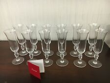 29 flûtes service Vence en cristal de Baccarat (prix à la pièce)