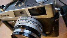 Canon Canonet QL17 GIII 35mm Rangefinder Camera