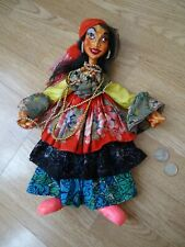 = 320mm ONE Very Nice HAND MADE Gypsy woman Doll =