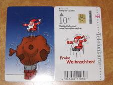 Telefonkarte dt.Telekom 10€, gut erhalten PD * Frohe Weihnachten Weihnacht # 077