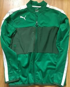 Rickie Fowler autographed signed autograph green Puma golf jacket IN PERSON COA