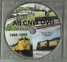 ALL CNW DVD 1988-1995 2 hours of CNW Video in Upper Midwest FREE SHIPPING!
