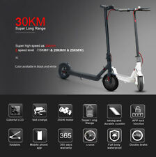Folding Electric Scooter 350W Motor LED Display App Support 3 Speed Modes 25kmh