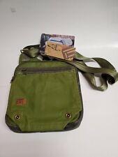 Ful Red Label Strummer Messenger Crossbody Black Canvas Bag Device Side Pack