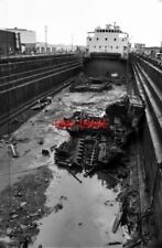 PHOTO  1983 MANCHESTER DRY DOCKS DATING FROM THE BUILDING OF THE SHIP CANAL IN 1