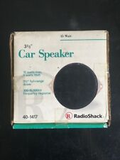 Radio Shack 3 1/2 Car Speaker 40-1417 Single Replacement Full Range Driver