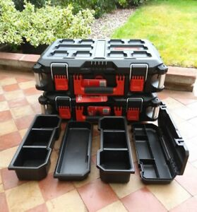 2 x Milwaukee Packout 3 Toolboxes 4932464080 + Trays (£56.00 each)