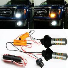 LED KFZ Beleuchtung Blinker Scheinwerfer Signal Light DRL 6000KWhite/3500K Amber