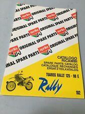 Aprilia catalogue pièces détachées Tuareg Rally 125 1990 chassis parts list