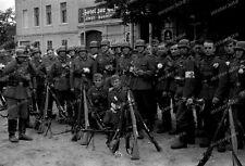 negativ-1940-Oderbruch-Brandenburg-letschin-Wehrmacht-Regiment-aufmarsch-42