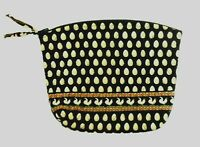 Vera Bradley Large Cosmetic Bag Makeup Storage Pouch Chanticlear Pattern Vintage