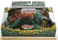 He-Man Masters of the Universe MOTU Classics Battle Lion 2013 Mattel NIB Sealed