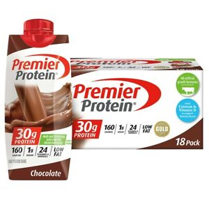 Premier Protein Shakes  Chocolate 11 fl. oz., 18-pack