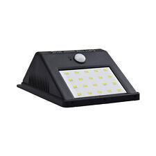 Solarleuchte mit Bewegungsmelder 20 LED Solarstrahler Außenleuchte Gartenlampe