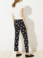 Ann Taylor LOFT NWT Size 2 The Riviera Pant Cropped Marissa Fit Floral Pants NEW
