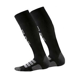Skins Socks - Mens - Black - New - Sportswear - Rugby - Training