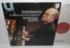 6500 084 Shostakovich Six Preludes & Fugues Op.87 Sviatoslav Richter