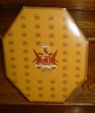 Knox~Vintage Octagonal Hat Box w/ Lid and Fittings/Rare and Superb