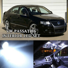 VW VOLKSWAGEN PASSAT B6 ERROR FREE BRIGHT XENON WHITE LED INTERIOR LIGHT SET