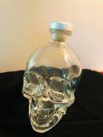 Crystal Head Vodka Bottle 750ML Dan Aykroyd Empty Skull Bottle