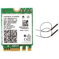 1X(Dual Band 2.4Gbps Intel Wi-Fi 6 AX200NGW 802.11Ax / Ac MU-MIMO 2X2 Wifi F2N2