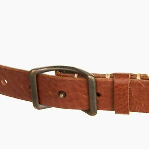 NEW Levi's Made & Crafted Leather Belt Rare Sample L XL 95cm W 34 - 36