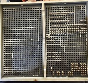 Vintage IBM Plug Board Patch Panel for reader of 604 Electronic Calculalator