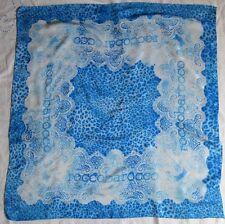 Très beau foulard ROCCO BAROCCO en soie TBEG  vintage Scarf 90cm x 90cm scarf
