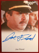 JAMES BOND - A VIEW TO A KILL - JOE FLOOD as SF Police Captain - Autograph Card