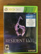 Resident Evil 6 Xbox 360 Game and Case 2 Disc Set with Decals