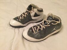 Boys Youth Nike Air Jordan Play in these II (GS) Size 6 Y Gray White 510582-002