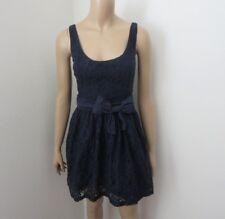 Hollister Womens Lace Dress Size Medium Navy Blue