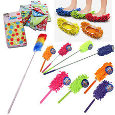 Feather Cleaning Duster Long Telescopic Static Bendable Tool Extendable Handle